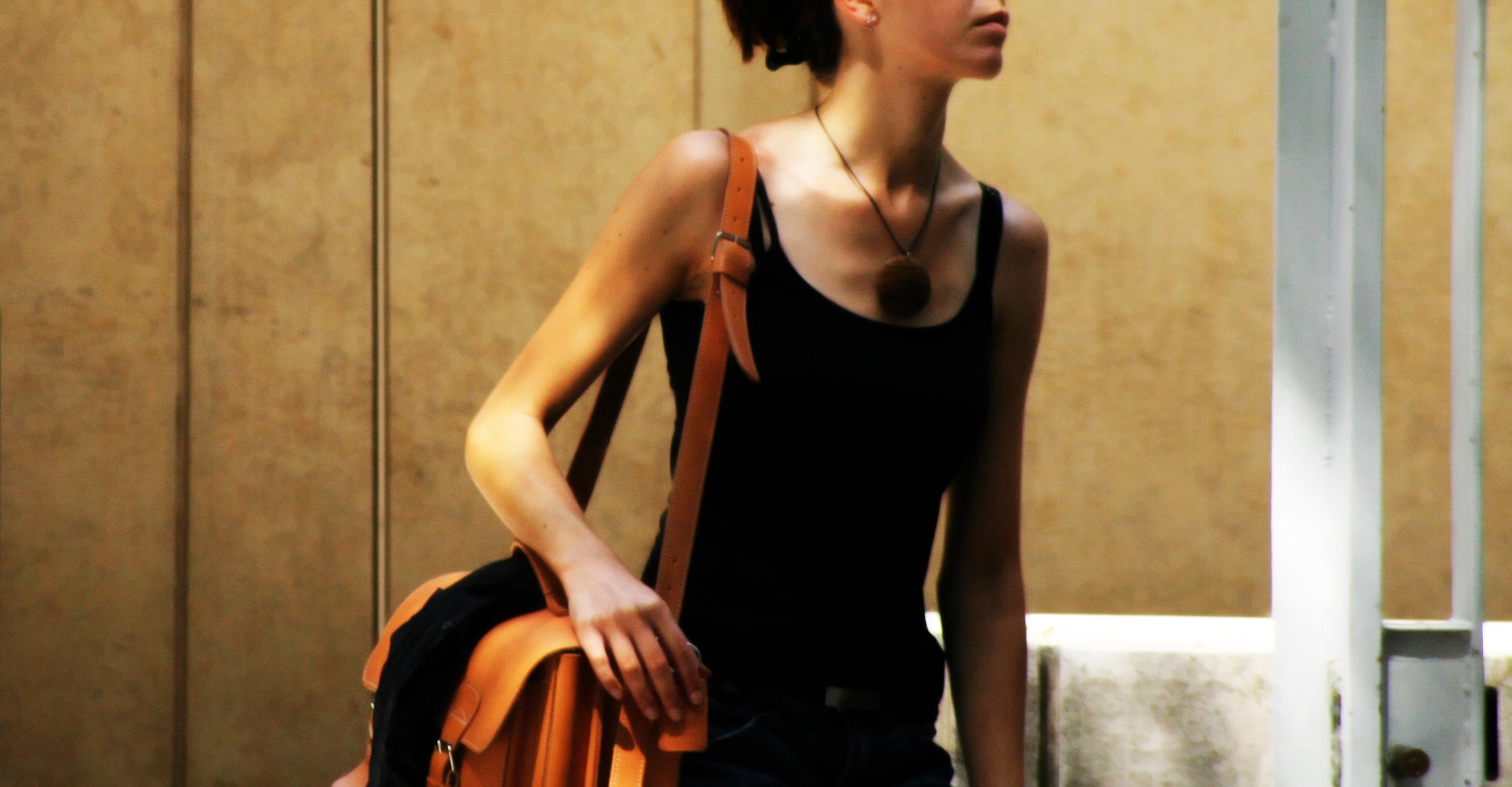 Stine Goya som taske designer for Adax