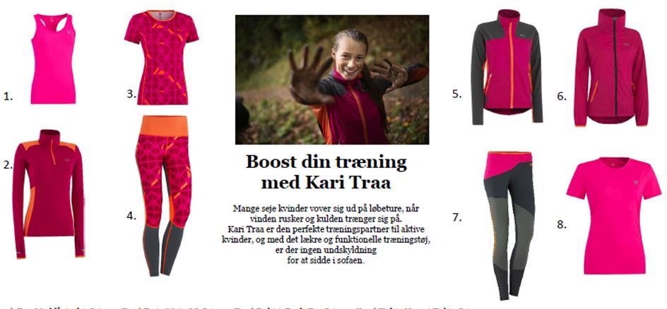 Boost din træning med Kari Traa
