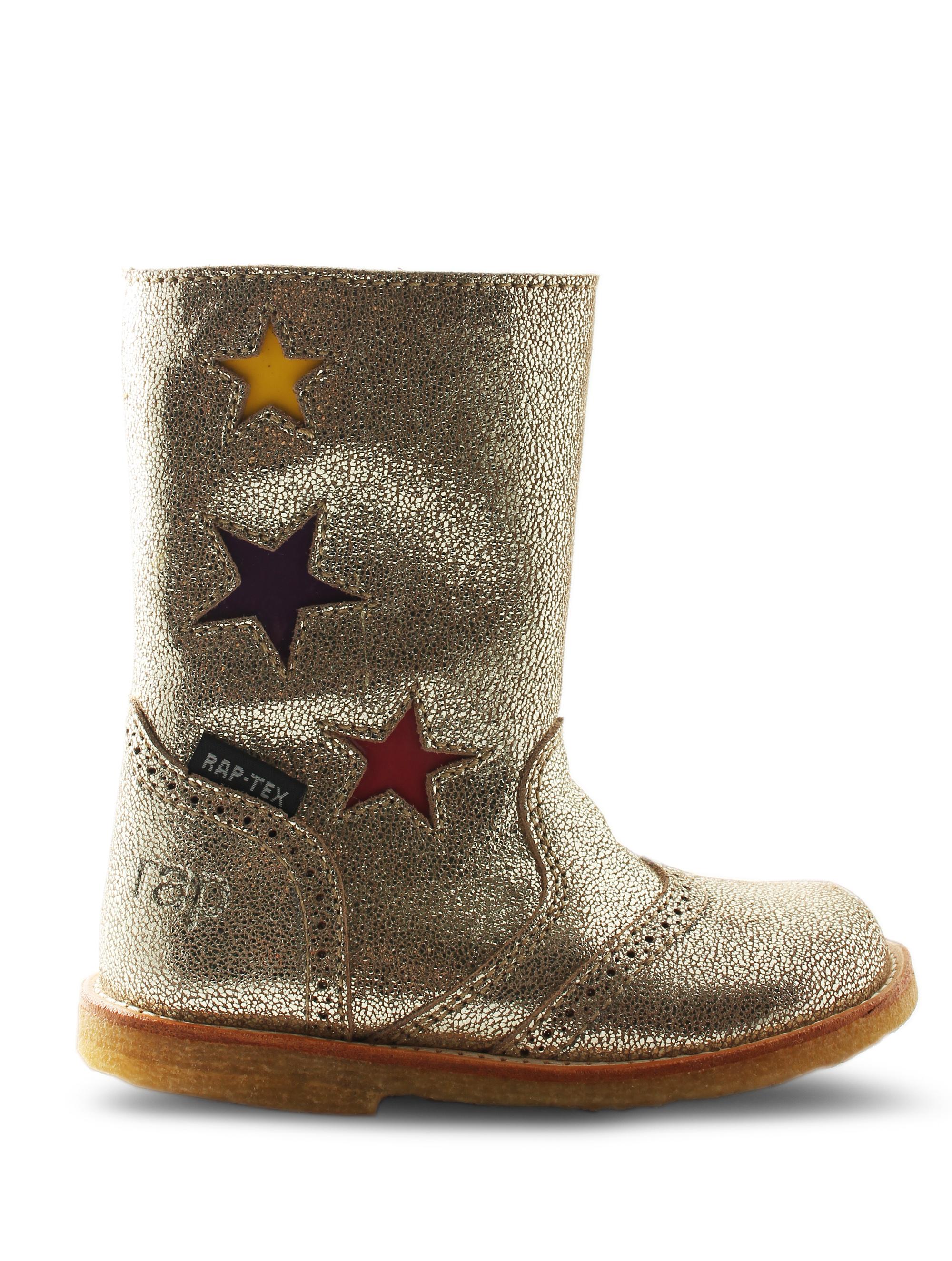 Smart RAP støvle i disco læder