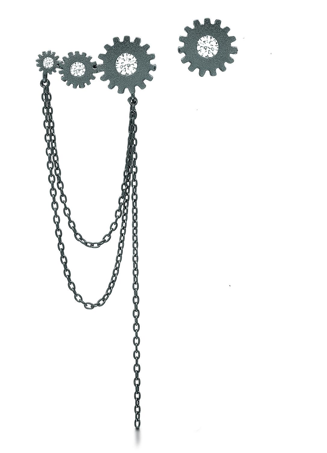 Sort sølv i rå stil fra Kranz og Ziegler