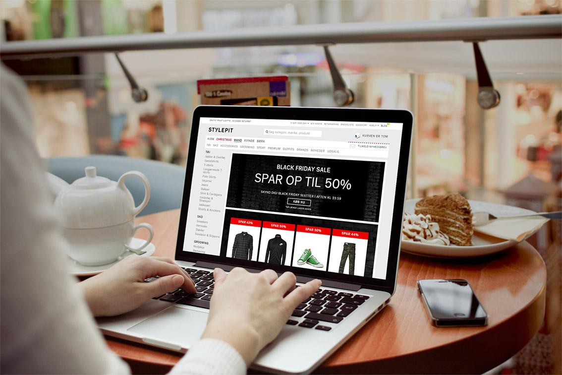 STYLEPIT tredobler salg på Black Friday 2014