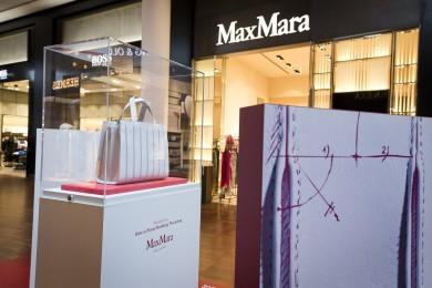 Max Mara Whitney Bag design by Renzo Piano Building Workshop i Københavns Lufthavn