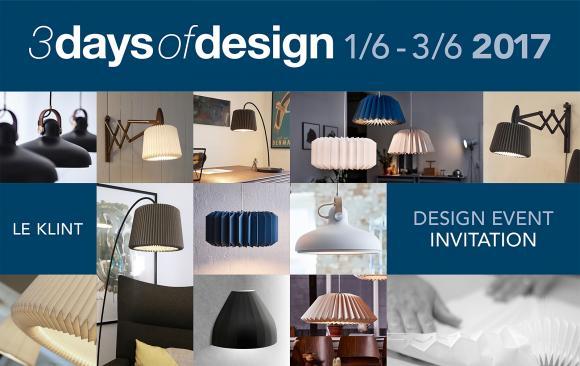 Kig forbi under 3 Days of Design