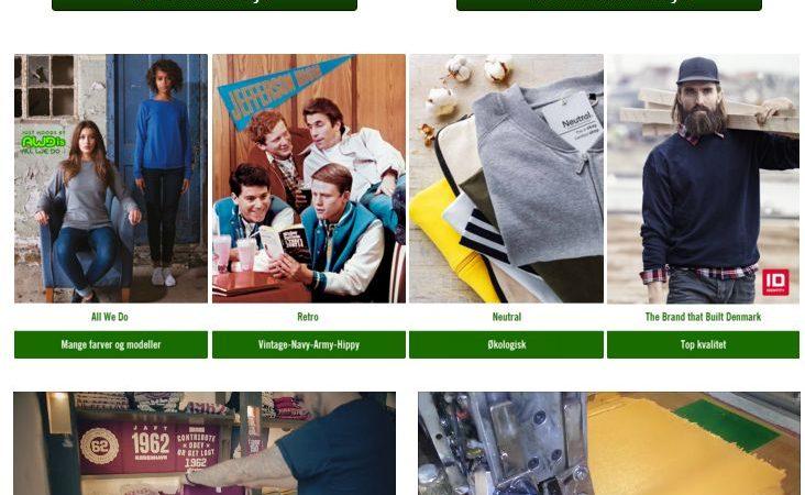 House of t-shirts sender ny webside på markedet