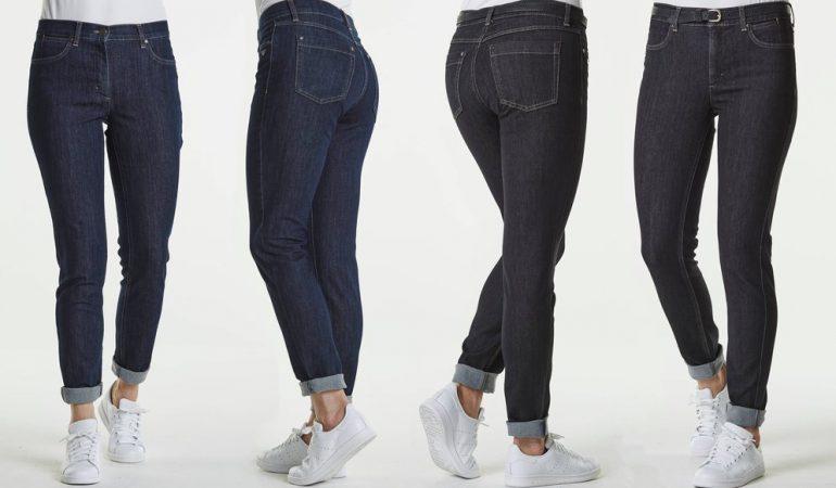 Patenterede danske jeans slanker maven og løfter bagen